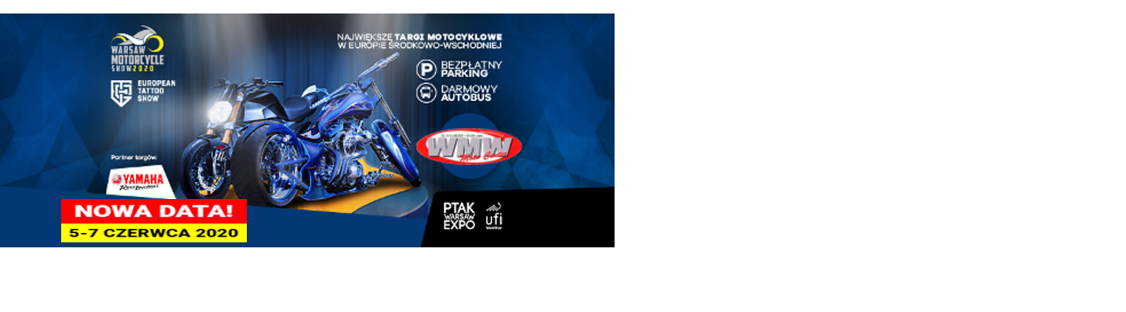 WARSAW MOTORCYCLE SHOW 2020
